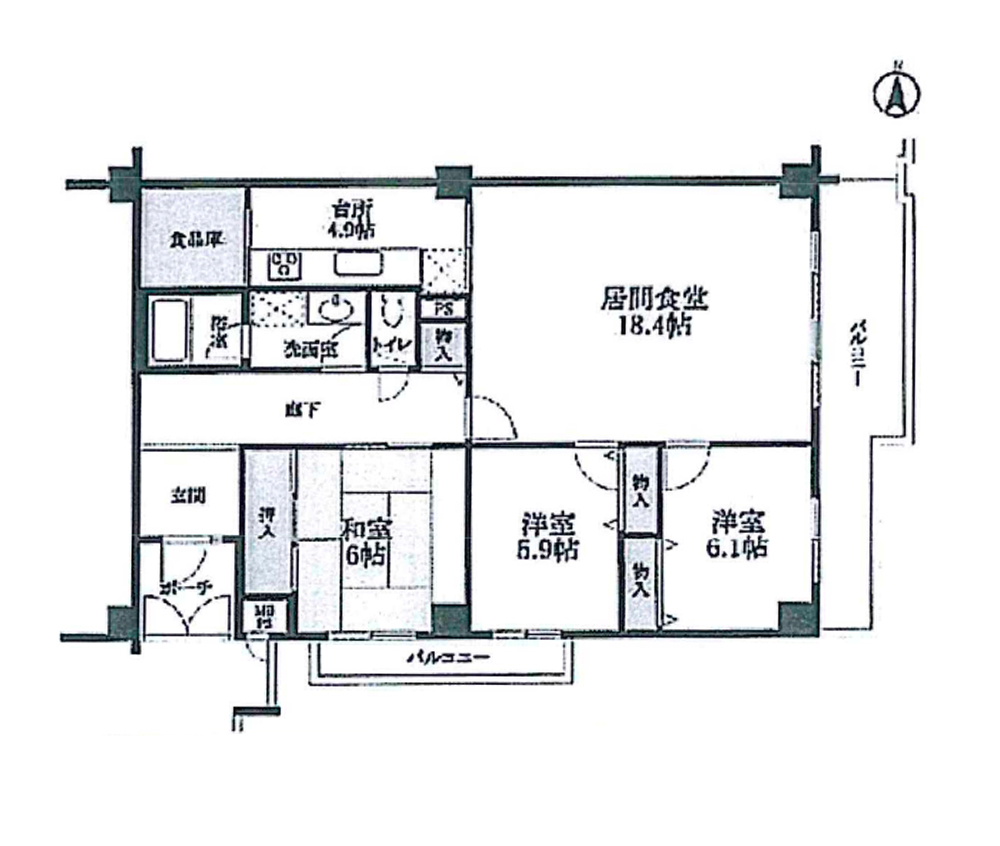日商岩井芦屋ガーデンヒルズA棟【成約済み】